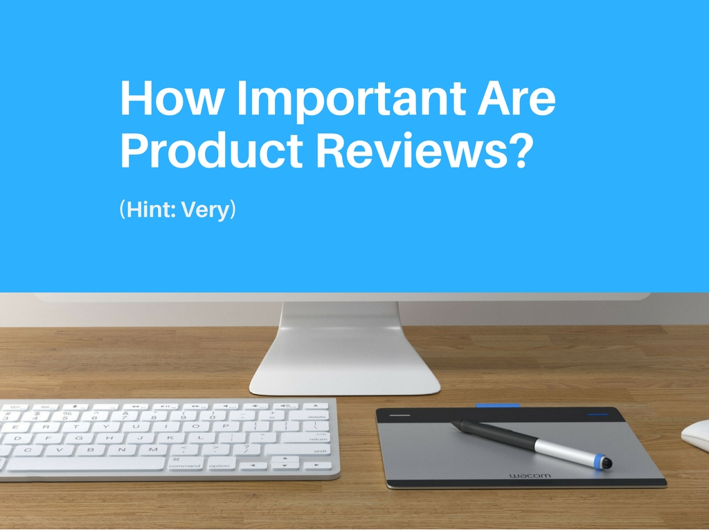 How Important Are Product Reviews With Image of Computer