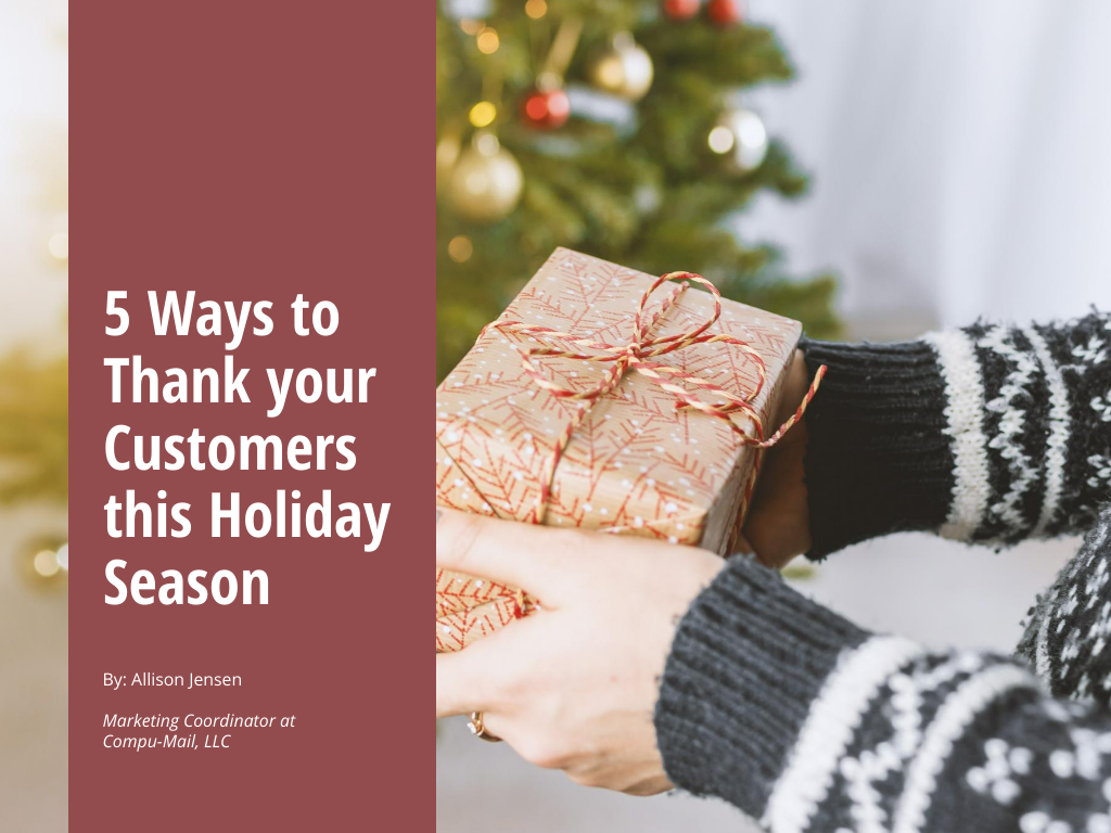 5 Ways to Thank Your Customers This Holiday Season